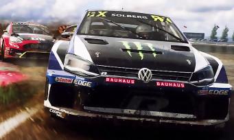 DiRT Rally 2.0 : une nouvelle vidéo de gameplay avec plein de rallycross !