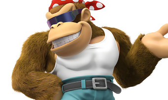 Donkey Kong Country Tropical Freeze : Funky Kong sera lui aussi de la partie