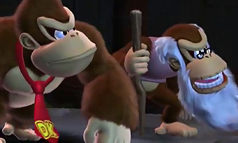Donkey Kong Country Tropical Freeze : un trailer avec de gros monstres