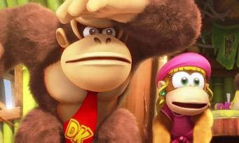 Donkey Kong Country Tropical Freeze : le jeu annoncé sur Switch, voici les 1ères images
