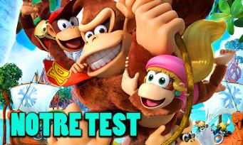 Test Donkey Kong Country Tropical Freeze : la même chose sur Switch ?