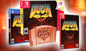 DOOM 64 : une version boîte annoncée sur Switch et PS4 avec un bien joli collector