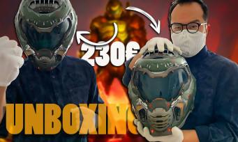 DOOM Eternal : notre unboxing du collector avec le casque du Doom Slayer