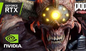 DOOM Eternal : 5 minutes de gameplay 4K comparant RTX 2080 Ti et RTX 3080