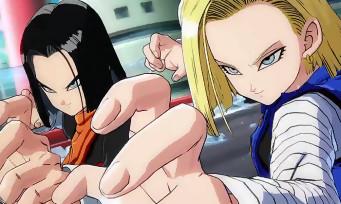 Dragon Ball FighterZ : un nouveau trailer dédié aux androïdes C-17 et C-18