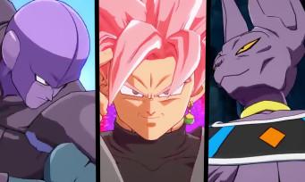 Dragon Ball FighterZ : un nouveau trailer avec Black Goku, Hit, Beerus et les musiques de l'animé