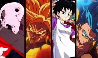 Dragon Ball FighterZ : Jiren, Super Broly, Videl et Gogeta Blue arrivent en DLC, un trailer pour les réunir
