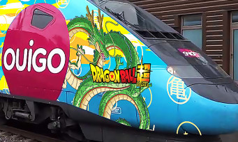 Dragon Ball Super Broly : Bandai Namco fait habiller des TGV aux couleurs du film