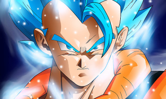 Dragon Ball FighterZ : une vidéo de gameplay avec Gogeta Blue, ça cogne dans tous les sens