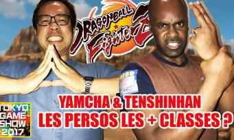 Dragon Ball FighterZ : notre avis sur Yamcha et Tenshinhan qu'on a vus au Tokyo Game Show 2017