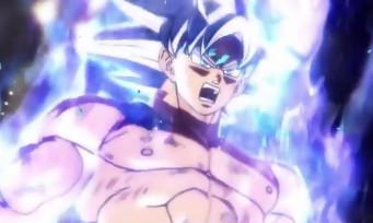 Dragon Ball Xenoverse 2 : voici la vidéo de Goku Ultra Instinct et ses cheveux argentés dans sa forme finale
