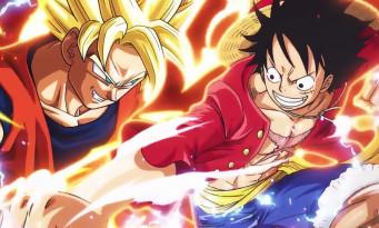 Un cross-game permet de faire affronter One Piece Great Pirate Colosseum et Dragon Ball Z Extreme Butoden