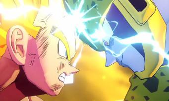 Dragon Ball Z Kakarot : le plein de nouvelles images, Gohan et Cell se rendent coup pour coup