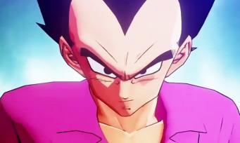 Dragon Ball Z Kakarot : un trailer de gameplay dans lequel Vegeta met des droites