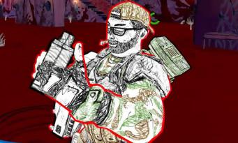 Drawn to Death : Bronco, le soldat estropié, fait tout péter en vidéo