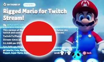 Dreams : Nintendo fait retirer les projets Mario, fini de jouer