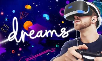 Dreams : la réalité virtuelle se prépare doucement, MediaMolecule lance une alerte