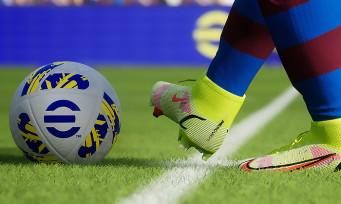 eFootball (PES 2022) nous montre ses évolutions de gameplay en vidéo