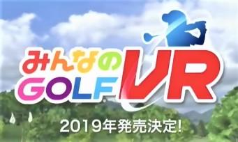 Everybody's Golf VR : le jeu fait un Bridie en plein Tokyo Game Show