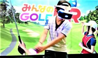 Everybody's Golf VR : le jeu arrivera avec le printemps prochain !