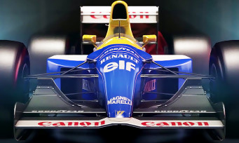 f1 2017 trailer de gameplay des williams renault mythiques. Black Bedroom Furniture Sets. Home Design Ideas