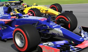 F1 2017 : une mise à jour qui apporte de nombreuses améliorations, les voici !
