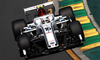 f1 2018 une vid o de gameplay avec charles leclerc monaco. Black Bedroom Furniture Sets. Home Design Ideas