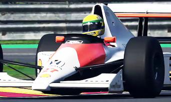 F1 2019 : la Legends Edition avec Prost et Senna annoncée via une vidéo de fou