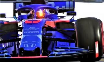 F1 2019 : un premier trailer de gameplay sur la bande son officielle de la F1