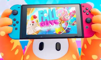 Fall Guys : le party-game phénomène aussi sur Switch, un trailer dédié à la console de Nintendo