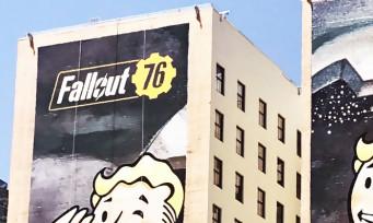 Fallout 76 : des affiches géantes à Los Angeles, Vault-Boy en forme !