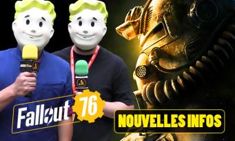 Fallout 76 : on fait le point, face-caméra, sur les nouveautés apportées dans le jeu ?