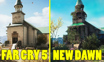 Far Cry New Dawn : une vidéo compare la map avec celle de Far Cry 5, du vrai changement ?