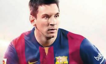 FIFA 15 : voici la nouvelle jaquette avec Lionel Messi