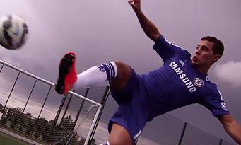FIFA 15 : Eden Hazard dévoile les nouveaux mouvements possibles dans le jeu