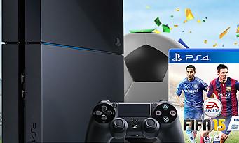 FIFA 15 offert avec la PS4 pendant une durée limitée !