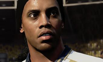 FIFA 18 : Ronaldinho fera bien partie des icônes FUT, voici une vidéo