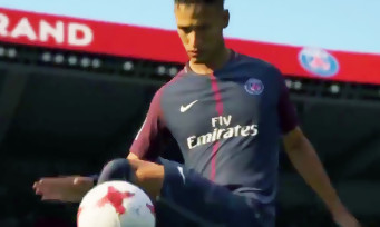 FIFA 18 : le trailer de la gamescom 2017 dévoile Neymar avec son maillot du PSG