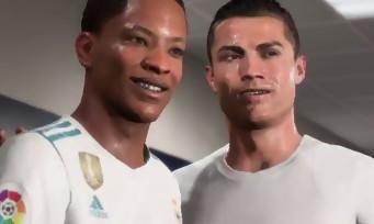"""FIFA 18 : CR7, Griezmann et Thiery Henry seront avec Alex Hunter dans le mode """"Aventure"""""""