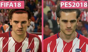 FIFA 18 vs. PES 2018 : qui a les plus beaux graphismes ? Voici un comparatif vidéo