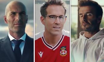 FIFA 22 : EA balance un trailer avec Ryan Reynolds, Zidane, Mbappé et Beckham