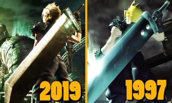 Final Fantasy VII Remake : voici l'artwork qui servira pour la jaquette et c'est un superbe hommage au jeu original