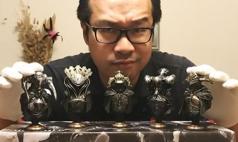 Final Fantasy XII The Zodiac Age : on vous unboxe le collector avec les bustes des 5 Juges