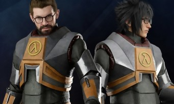 Final Fantasy XV : le costume de Gordon Freeman (Half-Life) est dans le jeu, les images