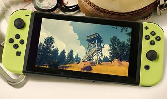 Firewatch : le très chouette jeu de Campo Santo se trouve une date de sortie chez Nintendo
