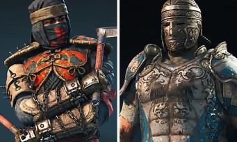 For Honor : le Shinobi et le Centurion se montrent en vidéos