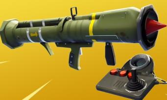 Fortnite : le missile guidé retiré du jeu à cause de problèmes techniques