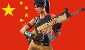 Fortnite : Tencent lance le jeu en Chine !