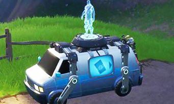 Fortnite : un système de respawn via un van bientôt dans le jeu ?