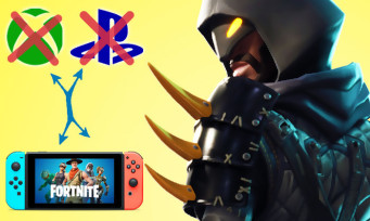 Fortnite : la version Switch n'est plus cross-play avec la PS4 et la Xbox One, explications !
